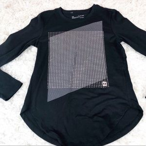 Under Armour Silver Dot Graphic Long Sleeve Tee